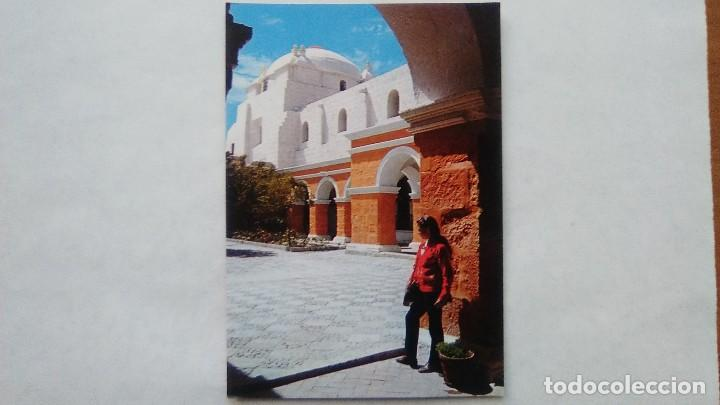 Postal Monasterio De Santa Catalina Arequipa Buy Old Postcards