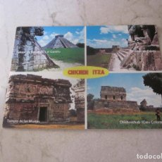 Postales: POSTAL CHICHEN ITZA MEXICO AÑOS 80. Lote 108940315