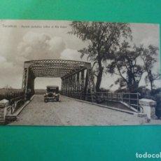 Postales: TUCUMAN PUENTE METALICO SOBRE EL RIO LULES AUTO TARJETA POSTAL O.H. B.A. N. 24 - ARGENTINA AÑOS 20. Lote 109366415