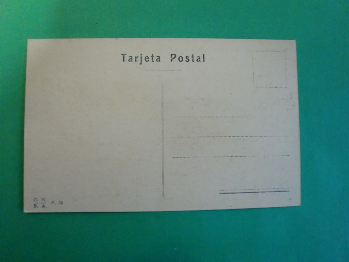 Postales: TUCUMAN PUENTE METALICO SOBRE EL RIO LULES AUTO TARJETA POSTAL O.H. B.A. N. 24 - ARGENTINA AÑOS 20 - Foto 2 - 109366415