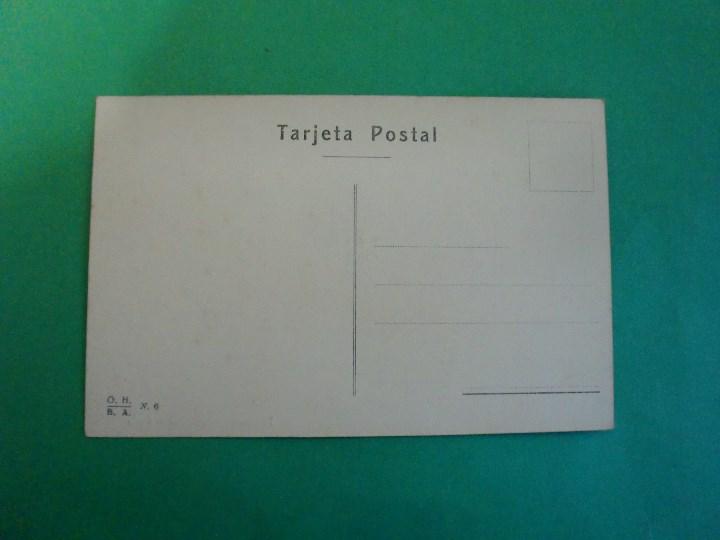 Postales: TUCUMAN AGUATEROS DE LEALES TARJETA POSTAL O.H. B.A. N. 6 - ARGENTINA AÑOS 20 - Foto 2 - 109367751