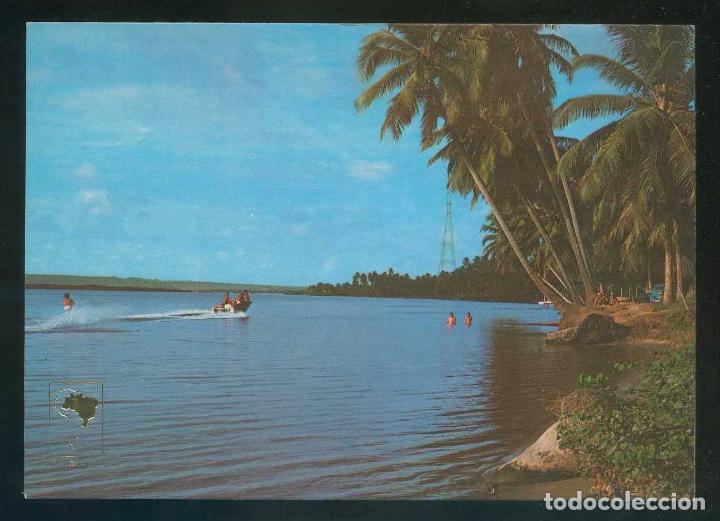 Brasil. AL - Maceió. *Lagoa do Mundaú* Circulada 1986. segunda mano