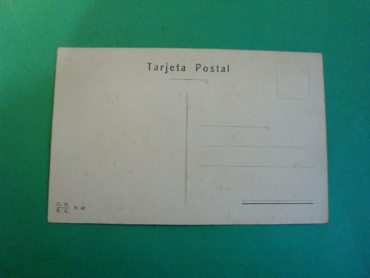 Postales: TUCUMAN PALACIO DE GOBIERNO Y SAN FRANCISCO TARJETA POSTAL O.H. B.A. N. 46 - ARGENTINA AÑOS 20 - Foto 2 - 109379463
