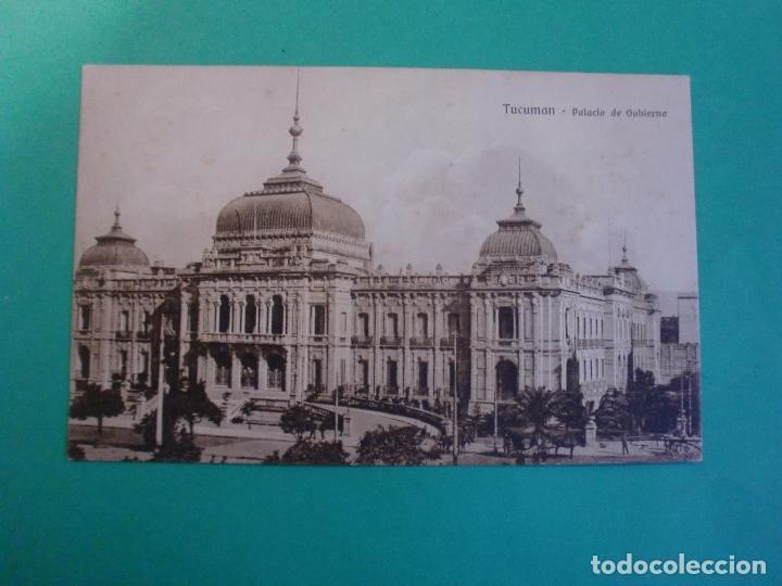 TUCUMAN PALACIO DE GOBIERNO TARJETA POSTAL O.H. B.A. N. 1 - ARGENTINA AÑOS 20 (Postales - Postales Extranjero - América)