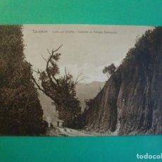 Postales: TUCUMAN CORTE DEL DIABLO CAMINO AL PARQUE ACONQUIJA TARJETA POSTAL O.H. B.A. N. 27 ARGENTINA AÑOS 20. Lote 176263720