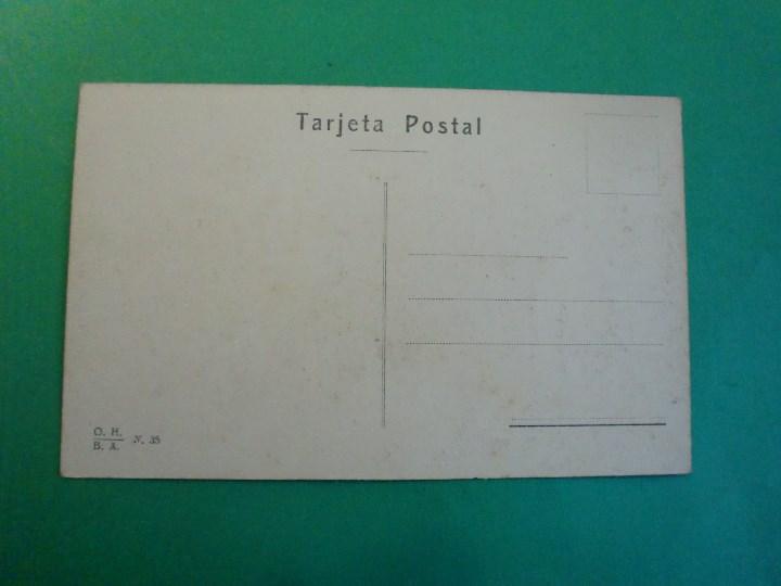 Postales: TUCUMAN PLAZA URQUIZA Y PARTE NORTE DE LA CIUDAD TARJETA POSTAL O.H. B.A. N. 35 ARGENTINA AÑOS 20 - Foto 2 - 109381059
