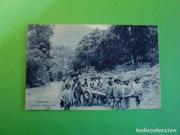 TUCUMAN CAMINO A TUFI DEL VALLE TARJETA POSTAL O.H. B.A. N. 40 ARGENTINA AÑOS 20 (Postales - Postales Extranjero - América)