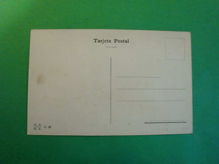 Postales: TUCUMAN CAMINO A TUFI DEL VALLE TARJETA POSTAL O.H. B.A. N. 40 ARGENTINA AÑOS 20 - Foto 2 - 109381967