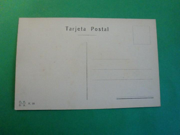 Postales: TUCUMAN A VUELO DE PAJARO 600 METROS TARJETA POSTAL O.H. B.A. N. 18 ARGENTINA AÑOS 20 - Foto 2 - 109383943