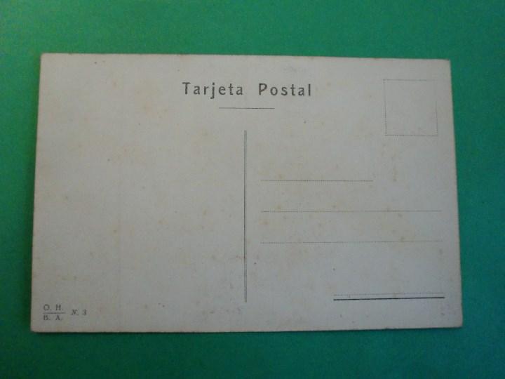 Postales: TUCUMAN CAIDA DEL RIO LULES TARJETA POSTAL O.H. B.A. N. 3 ARGENTINA AÑOS 20 - Foto 2 - 109384723
