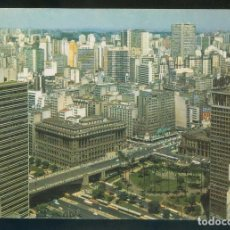 Postales: BRASIL. SP - SÂO PAULO. *VISTA DO CENTRO...* ESCRITA.. Lote 110139559