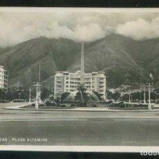 Postales: VENEZUELA. CARACAS. *PLAZA ALTAMIRA* ESCRITA.. Lote 110188319