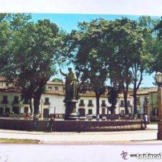 Postales: POSTAL DE MICHOACAN ( MEXICO ) : MONUMENTO A VASCO DE QUIROGA EN PATZCUARO. Lote 110636271