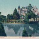 Postales: POSTAL LOTA CHILE- CASTILLO EN EL PARQUE - 1559 ADOLFO CONRADS - SANTIAGO . CHILE. Lote 111413727