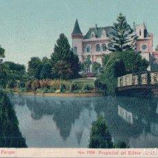 Postales: POSTAL LOTA CHILE- CASTILLO EN EL PARQUE - 1559 ADOLFO CONRADS - SANTIAGO DE CHILE. Lote 111413727