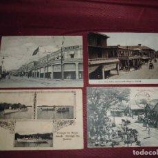 Postales: MAGNIFICAS 10 POSTALES ANTIGUAS JAMAICA. Lote 113077595