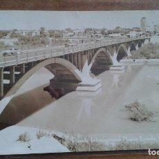 Postales: EEUU - TEXAS - NUEVO LAREDO - PUENTE INTERNACIONAL - POSTAL FOTOGRAFICA M.F Nº 94. Lote 114233935