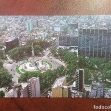 Postales: POSTAL MEXICO D.F. VISTA AEREA DEL MONUMENTO A LA INDEPENDENCIA Y HOTEL MARIA ISABEL. EDICIONES FEMA. Lote 114977723