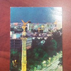 Postales: POSTAL MEXICO D.F. MONUMENTO DE LA INDEPENDENCIA EDITORIAL MÉXICO. SIN CIRCULAR. Lote 114977795