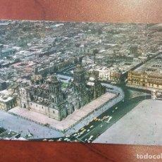 Postales: POSTAL MEXICO D.F. VISTA AEREA DE LA CATEDRAL DE MEXICO D.F. EDICIONES FEMA. SIN CIRCULAR. Lote 114978147