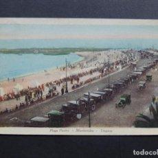 Postales: POSTAL DE URUGUAY / MONTEVIDEO - PLAYA POCITOS / FOTOCELERE. Lote 115110763