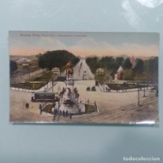Postales: POSTAL BUENOS AIRES ARGENTINA 1903. MONUMENTO A GARIBALDI.. Lote 115392639
