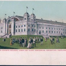 Postales: POSTAL FOREIGN EXHIBITS BUILDING - LEWIS AND CLARK CENTENNIAL EXPOSITION - PORTLAND. Lote 115468427
