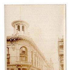 Postales: POSTAL FOTOGRÁFICA REVOLUCIÓN MEXICANA 1910, CALLE DEL ESPIRITU SANTO. Lote 115524419
