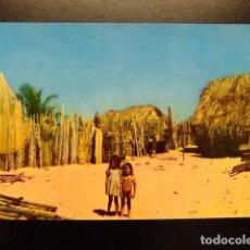 Postales: VENEZUELA VIVIENDAS DE PESCADORES DEL CARIBE. Lote 116340227