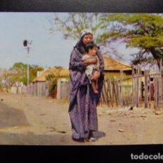 Postales: VENEZUELA MADRE INDIA GOAJIRA CON SU HIJO. Lote 116341703