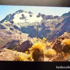 Postales: VENEZUELA LOS ANDES VENEZOLANOS PICO BOLIVAR 5002M.. Lote 116343991