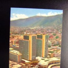 Postales: VENEZUELA CARACAS EL CENTRO SIMON BOLIVAR VISTA AEREA . Lote 116347923