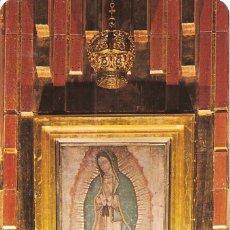 Cartoline: POSTAL, MÉXICO, IMAGEN DE LA VIRGEN DE GUADALUPE EN NUEVA BASÍLICA DE GUADALUPE, ESCRITA. Lote 116679987