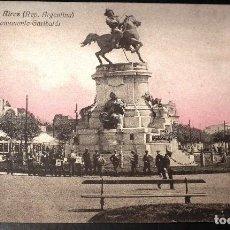 Postales: POSTAL DE BUENOS AIRES: MONUMENTO GARIBALDI. Lote 117358843