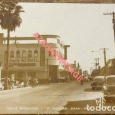 Postales: MEXICO, CALLE ZARAGOZA, P.NEBRAS, COAH, FOTOGRAFICA. Lote 118249095