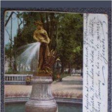 Postales: POSTAL N°6352 MÉXICO PASEO DE LA ALAMEDA FRANQUEO ESPAÑA 1903. Lote 118853051