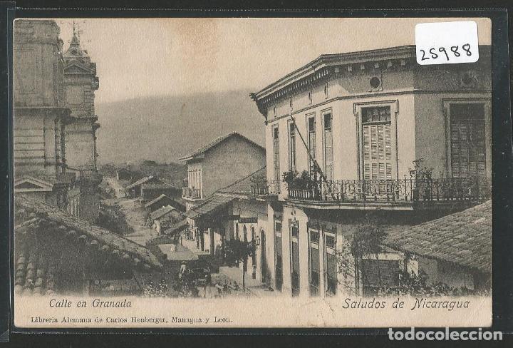 NICARAGUA - CALLE EN GRANADA - P25988 (Postales - Postales Extranjero - América)