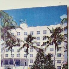Postales: POSTAL ANTIGUA. NETHERLAND HOTEL. MIAMI BEACH. FLORIDA. Lote 119249871
