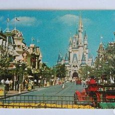 Postales: ANTIGUA POSTAL ORIGINAL WALT DISNEY WORLD FANTASYLAND CASTILLO DE CENICIENTA. Lote 119649856