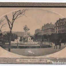 Postales: (ALB-TC-24) POSTAL ARGENTINA BUENOS AIRES FUENTE LOLA MORA NUEVA. Lote 119672059