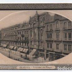 Postales: (ALB-TC-24) POSTAL ARGENTINA BUENOS AIRES AVENIDA DE MAYO NUEVA. Lote 119672651