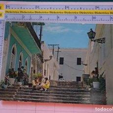 Postales: POSTAL DE PUERTO RICO. AÑOS 60 70. CARIBE. SAN JUAN, LAS ESCALERILLAS. 1682. Lote 122043087