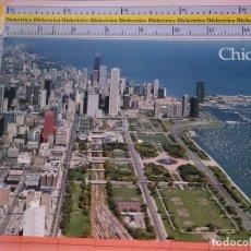 Postales: POSTAL DE ESTADOS UNIDOS. AÑOS 70 80. CHICAGO ILLINOIS, SKYLINE GRANT PARK MONROE HARBOR. 1673. Lote 122043647