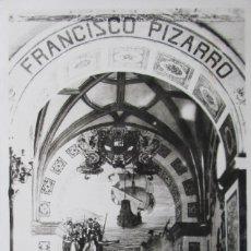 Postales: POSTAL CATEDRAL DE LIMA - FRANCISCO PIZARRO - PERU - AMERICA. Lote 122111675