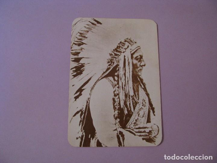 Postales: POSTAL DE SERIE OLD WEST COLLECTORS SERIES. INDIO LLAMADO SITTING BULL. - Foto 1 - 122712123