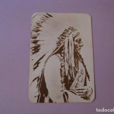 Postales: POSTAL DE SERIE OLD WEST COLLECTORS SERIES. INDIO LLAMADO SITTING BULL.. Lote 122712123
