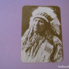 Postales: POSTAL DE SERIE OLD WEST COLLECTORS SERIES. INDIO LLAMADO AMERICAN HORSE.. Lote 122712271