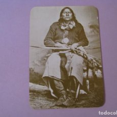 Postales: POSTAL DE SERIE OLD WEST COLLECTORS SERIES. INDIO LLAMADO SATANTA.. Lote 122712363