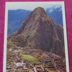 Postales: POSTAL DEL MACHU PICCHU PERU. Lote 122843711