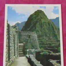 Postales: POSTAL DEL MACHU PICCHU PERU. Lote 122843807